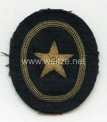 Kriegsmarine Ärmelabzeichen Kadetten seemännische Laufbahn