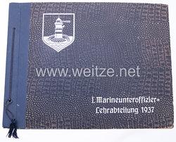 Kriegsmarine - I. Marineunteroffizier-Lehrabteilung 1937 - Erinnerungsbuch
