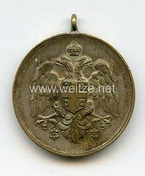 Königreich Serbien Medaille für Eifer