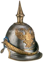 Schleswig-Holstein Helm Modell 1848 für Mannschaften der Dragoner Regimenter