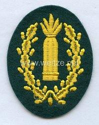 Wehrmacht Heer Ärmelabzeichen für einen Richtkanonier der Nebeltruppe