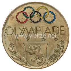 XI. Olympischen Spiele 1936 Berlin - kleiner Schminkspiegel als Erinnerungsstück