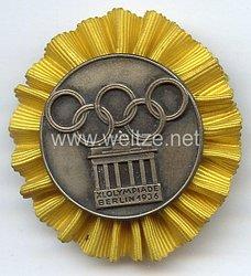 XI. Olympischen Spiele 1936 Berlin - Teilnehmer-Plaketten für das Internationale Studenten- und Jugendlager - für das Lager der Fachämter in der 1. Woche