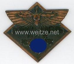 Nationalsozialistisches Fliegerkorps (NSFK)nichttragbare Teilnehmerplakette - Deutschlandflug 1937