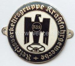 Reichsverkehrsgruppe Kraftfahrgewerbe ( RVK )