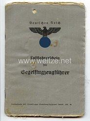 Luftfahrerschein für Segelflugzeugführer