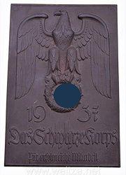 SS-Porzellanmanufaktur Allach - Ehrenplakette