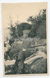Kriegsmarine Foto, Gefreiter der Küstenartillerie
