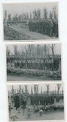 Luftwaffe Fotogruppe, Schweigeminute für die Gefallenen Soldaten