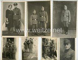 Waffen-SS Fotogruppe, Grundwehrdienst eines Angehörigen der deutschen Volksgruppe aus Rumänien
