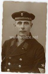 Weimarer Republik Portraitfoto, Matrosenhauptgefreiter der Reichsmarine