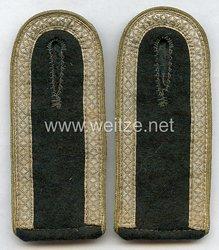 Wehrmacht Heer Paar Schulterklappen für Unteroffizier der Nachrichtentruppe