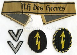 Wehrmacht Heer Satz Effekten für eine Nachrichten-Oberhelferin