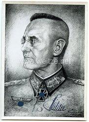 Heer - Originalunterschrift von Ritterkreuzträger Generaloberst Franz Halder
