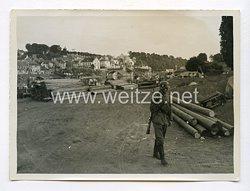 Pressefoto, BesetzungFrankreichs1940: Paris.