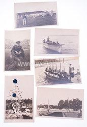 Kriegsmarine Fotos eines Angehörigen eines Matrosen bei der Ausbildung