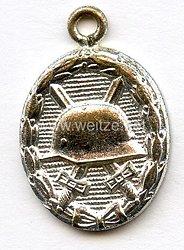 Verwundetenabzeichen in Silber als Miniatur - Ausführung 1957
