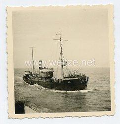 Foto Kriegsmarine Vorpostenboot auf See