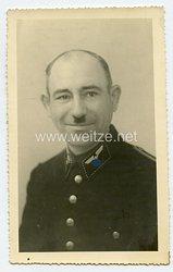 Foto, Angehöriger der Reichsbahn