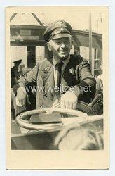 II:Reich Portraitfoto eines Barkassenführer in Uniform