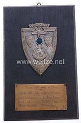 "NSKK - nichttragbarer Mannschaftspreis - "" Hunsrückorientierungsfahrt Motorbrigade-Westmark 28.-29.8.1937 """