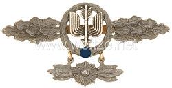 Истребитель-штурмовик в золоте с подвеской
