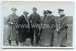Luftwaffe - Originalunterschrift von Ritterkreuzträger Hauptmann Helmut Bode
