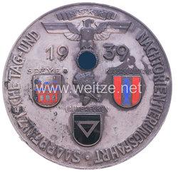 """NSKK - nichttragbare Teilnehmerplakette - """" NSKK Saarpfälzische Tag- und Nachtorientierungsfahrt Speyer-Kaiserslautern-Lauterecken 1939 """""""