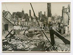 III. Reich Pressefoto. So wird nun England den Krieg kennen lernen, den es gewollte hat. 2.7.1940.