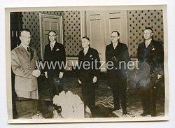 III. Reich Pressefoto. Vereidigung der neuen Bürgermeister. 6.3.1941.