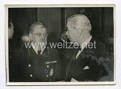 III. Reich Pressefoto. Präsident von Tasnady-Nagy in Berlin. 16.1.1942.
