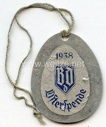 Sudetenland - Bund der Deutschen ( BdD ) - Opferspende 1938