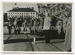 III. Reich Pressefoto. Die Hauptstadt der Bewegung begrüßte die österreichischen Kameraden. 15.3.1938.
