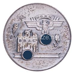 """NSKK / DDAC nichttragbare Teilnehmerplakette """"NSKK DDAC 1. Zuverlässigkeitsfahrt rund um Halle Ortsgr. Halle a.S. 3.6.1934"""""""