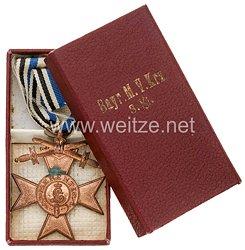 Bayern Militär Verdienst Kreuz 3. Klasse mit Schwertern