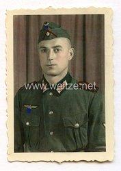 Wehrmacht Portraitfoto, Angehöriger im einen Artillerie-Regiment