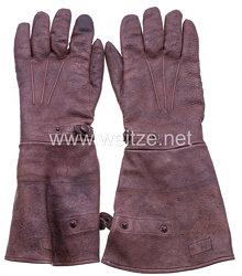 Erster Weltkrieg Paar beheizbare Handschuhe für Flieger