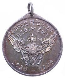 "Garde-Füsilier Regiment - Regimentsmedaille zum 100-jährigem Jubiläum 1826-1926 ""Maikäfer"""