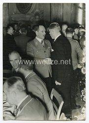 III. Reich Pressefoto. Der Kameradschaftsabend der Reichstagsabgeordneten im Berliner Schloß. 20.2.1938.