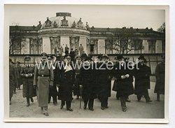 III. Reich Pressefoto. Reichsaußenminister Matsuoka besucht die Historischen Stätten Potsdams. 30.3.1941.