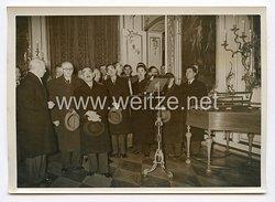 III. Reich Pressefoto. Außenminister Matsuoka besucht die Historischen Stätten Potsdams. 30.3.1941.