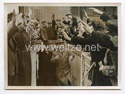 III. Reich Pressefoto. Außenminister Matsuoka besucht die schaffenden Berlin. 5.4.1941.