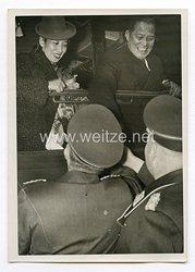III. Reich Pressefoto. Botschafter Oshima verließ Berlin. 29.10.1939.