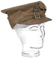 Polen 2. Weltkrieg Feldmütze für Mannschaften der Exilarmee in England