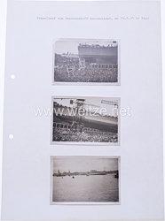 Kriegsmarine Fotogruppe, Stapellauf von Panzerschiff Deutschland