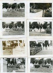 Luftwaffe Fotogruppe, Beerdigung eines Fallschirmjäger