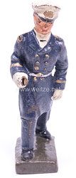 Lineol - Kriegsmarine Offizier in blauer Uniform marschierend