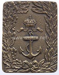 Österreich K.u.K. Monarchie Feldbindenschloß für Offiziere der K.u.K. Kriegsmarine, um 1914