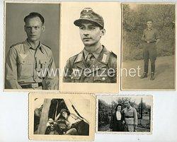 Luftwaffe Fotogruppe, Angehöriger einer Flakabteilung im Afrikafeldzug