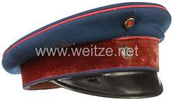 Preußen Schirmmütze für einen Militärapotheker